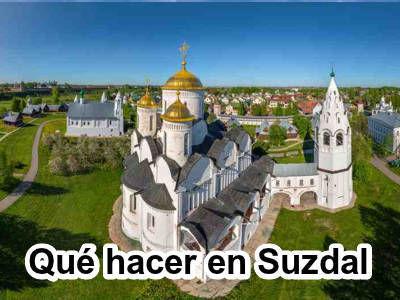 Atracciones turísticas en Suzdal, Rusia.