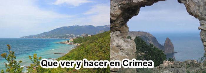 Que ver y hacer en Crimea