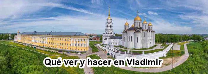 Catedral Dormición en Vladimir, Rusia.
