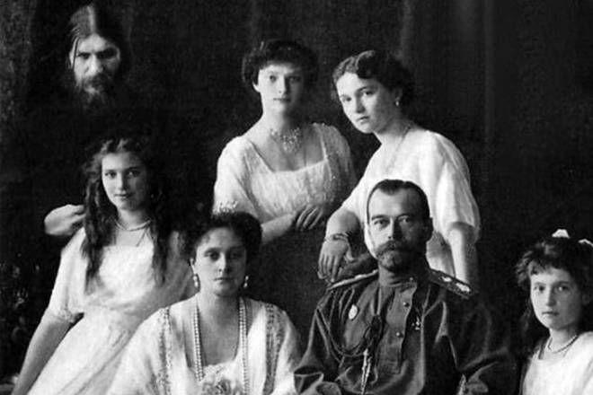 Rasputin y la familia Real