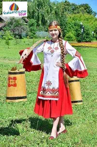 Ropa tradicionall de chuvashia