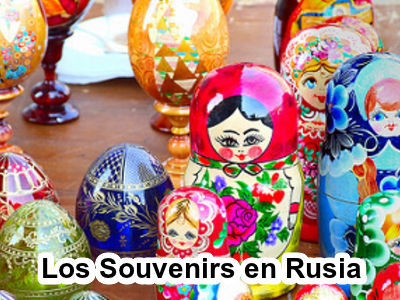 Los Souvenirs en Rusia