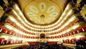El teatro Bolshoi por dentro