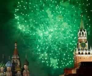 Tour año nuevo en Moscu