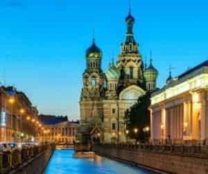 Noches blancas en San Petersburgo