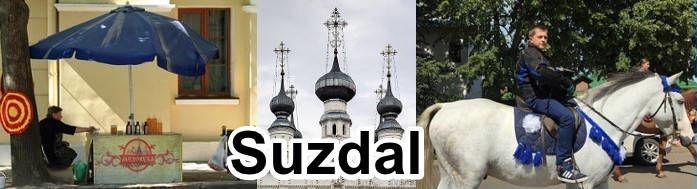 Vida cotidiana en Suzdal.