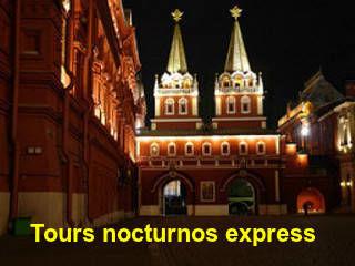 Tour nocturno express para turistas de escala