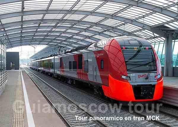 Tour panoramico en tren MCK en español