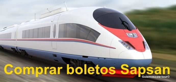 Comprar boletos tren Sapsan
