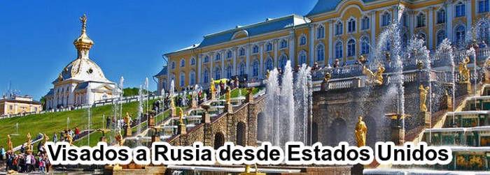 Visados a Rusia desde Estados Unidos
