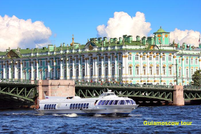 Traslado a Peterhof en Barco Meteoro de San Petersburgo