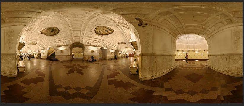 Bielorruskaya estación metro de Moscú