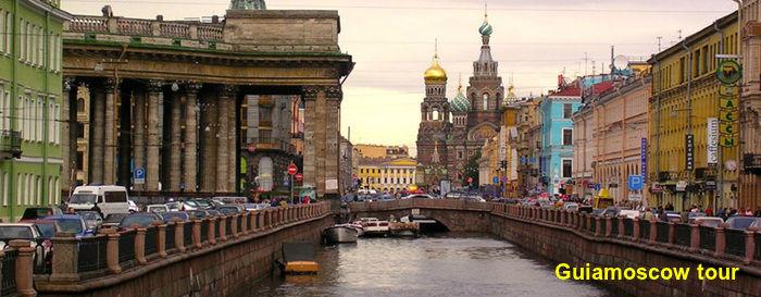 Paseo en bote por los canales de San Petersburgo