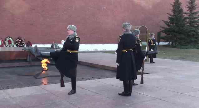 Cambio de guardia en Moscú