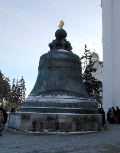 La campana del Kremlin - Moscú