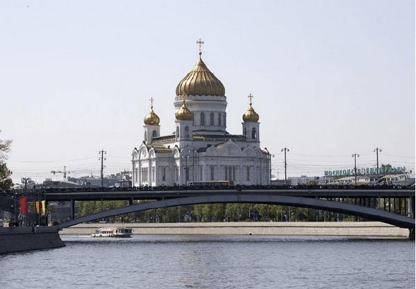 Cristo salvador de Moscú