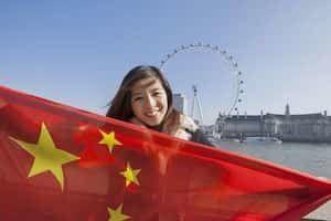 Turistas de China