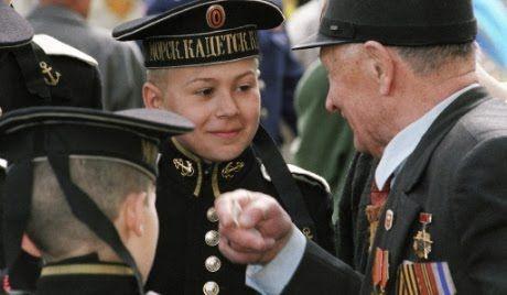 Futuros soldados rusos..