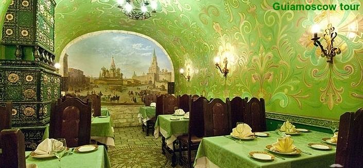 Restaurante Godunov Moscú