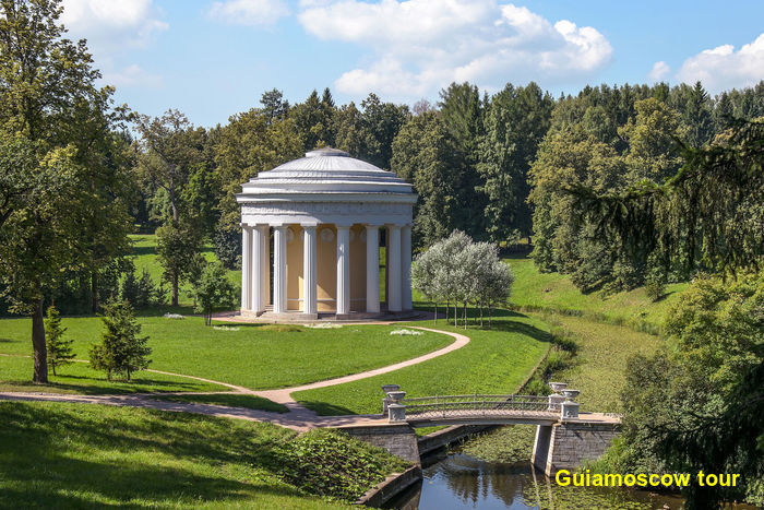 Los jardines de Pavlovsk