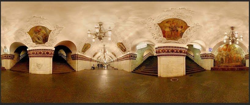 Kievskaya estación Moscú