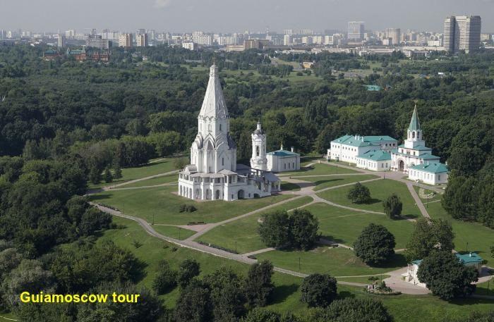 Paseo por el parque Kolomenskoye