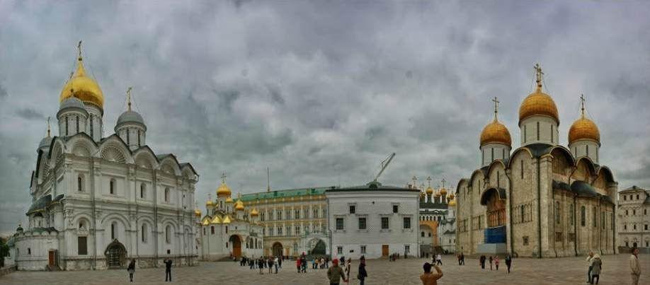 El kremlin de Moscú - Información en español