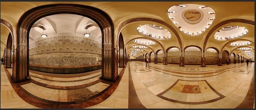 Mayakovskaya metro de moscu