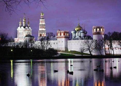 Monasterio Novodevichi - Moscú