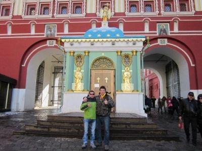 Fredy - contrató excursiones con Guiamoscow tour - Miguel Gonzalez