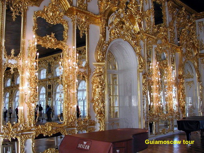 Tour en el Palacio de Catalina la grande