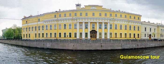 Tour en el palacio de Yosupov