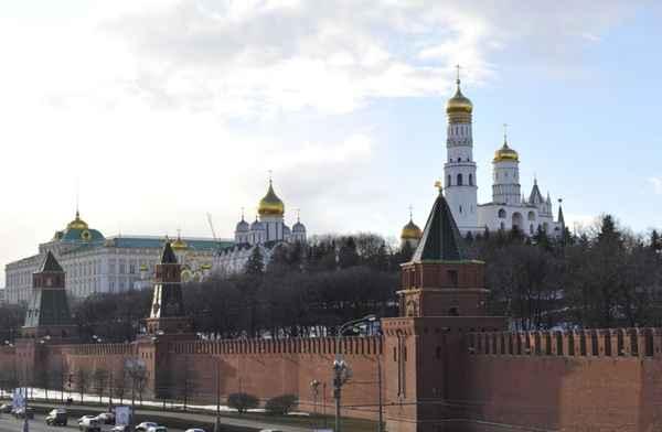 Panorámica del Kremlin en Moscú.