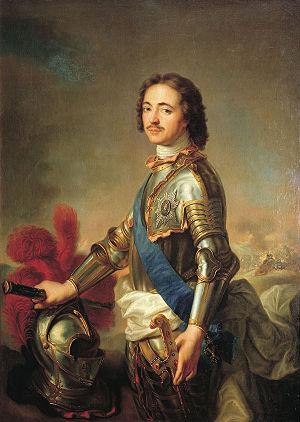 Pedro primero de Rusia