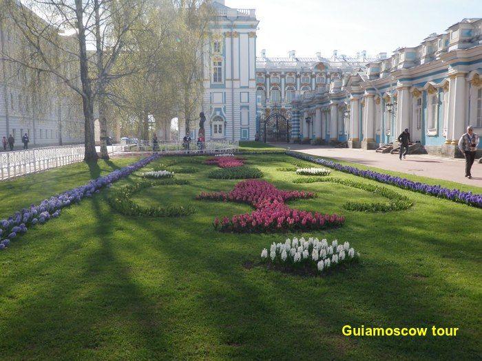 Jardines ciudad de Pushkin
