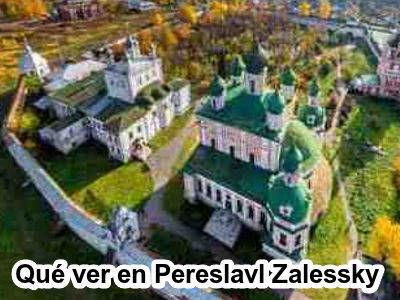 Que ver y hacer en Pereslavl Zalessky