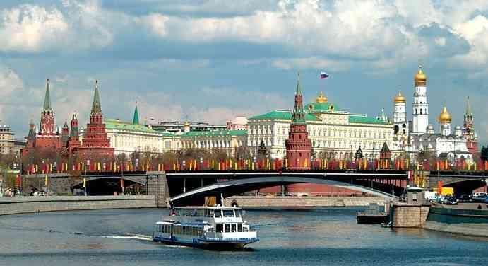 Tour marítimo por el río de Moscú