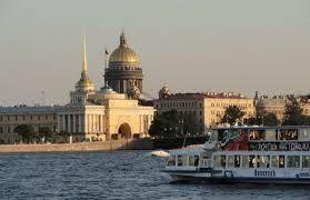 Tour maritimo por los canales de San Petersburgo