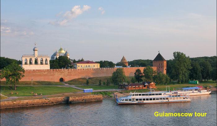 Tour en el Kremlin de Novgorod