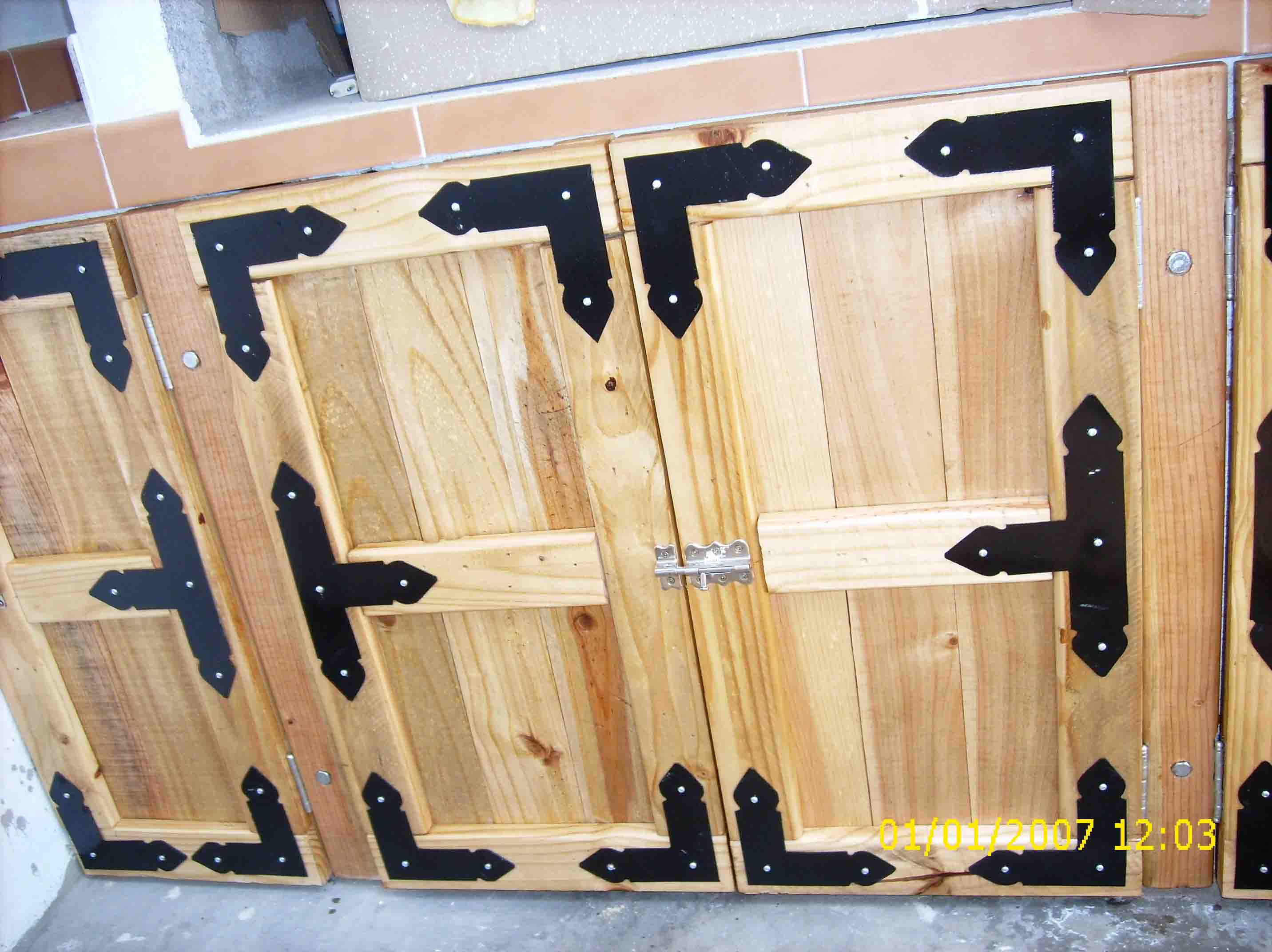 Gustavoramirezbetancor bricolage for Puertas corredizas de palets