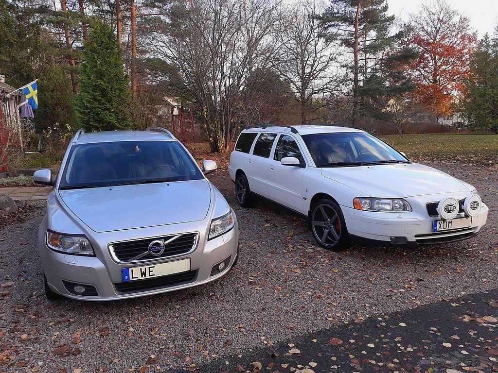 Volvo V50 D2 und Volvo V70 T5