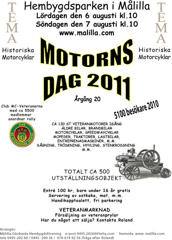 Motorns dag