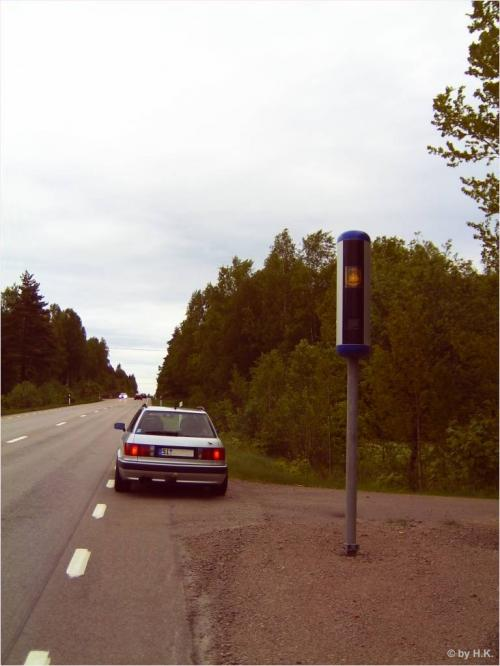 Radaranlage in Schweden
