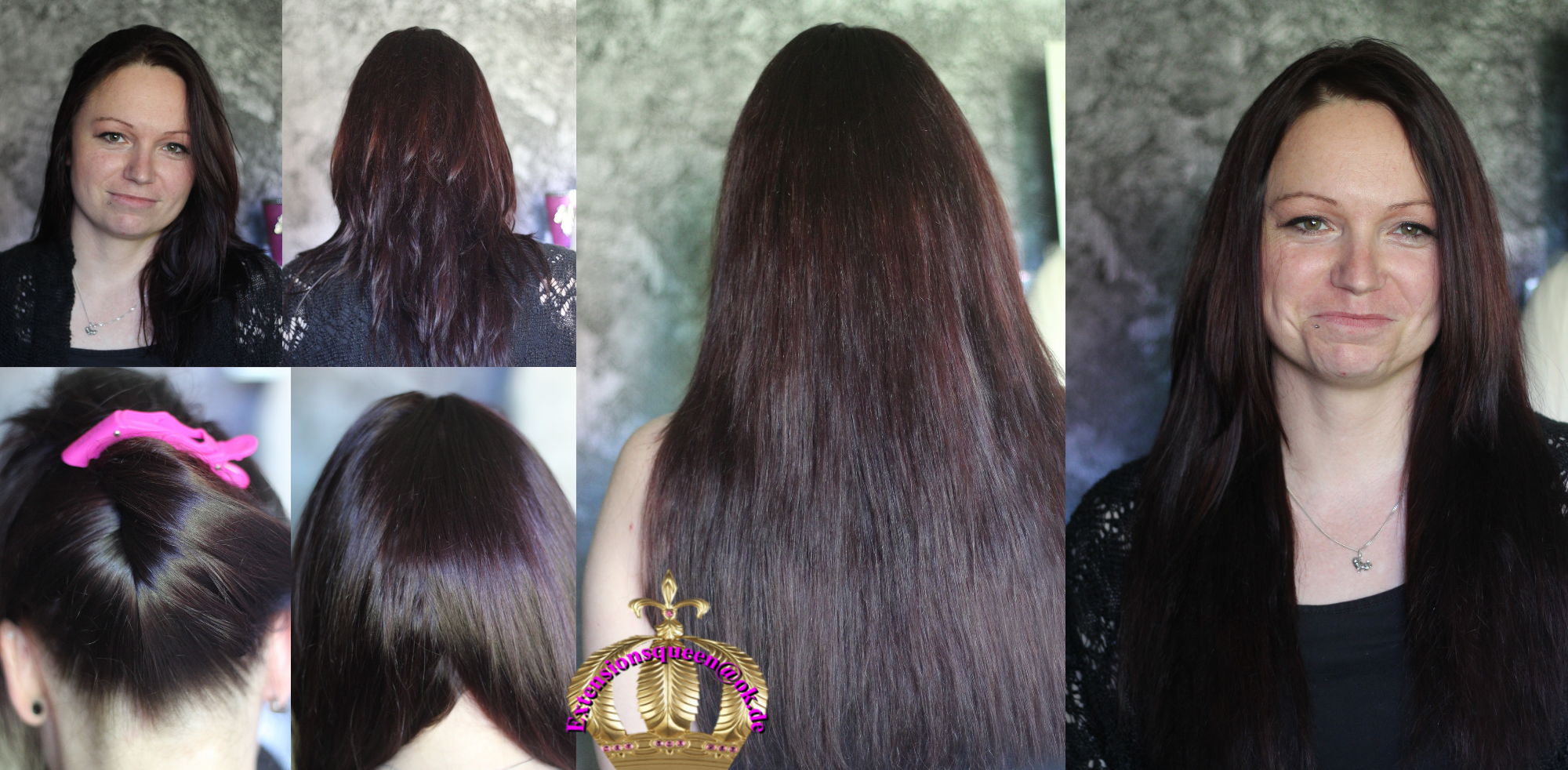 Extensionsqueen, Hairextension, Extensionsprofi, Wimpernextension, Haarersatz, Haarintegration, Haarverlängerung, Haarverdichtung, mit Bondings, Microringe, Tressen, Haarnetze, Haarteile; Makeup, Styling, Pritzwalk