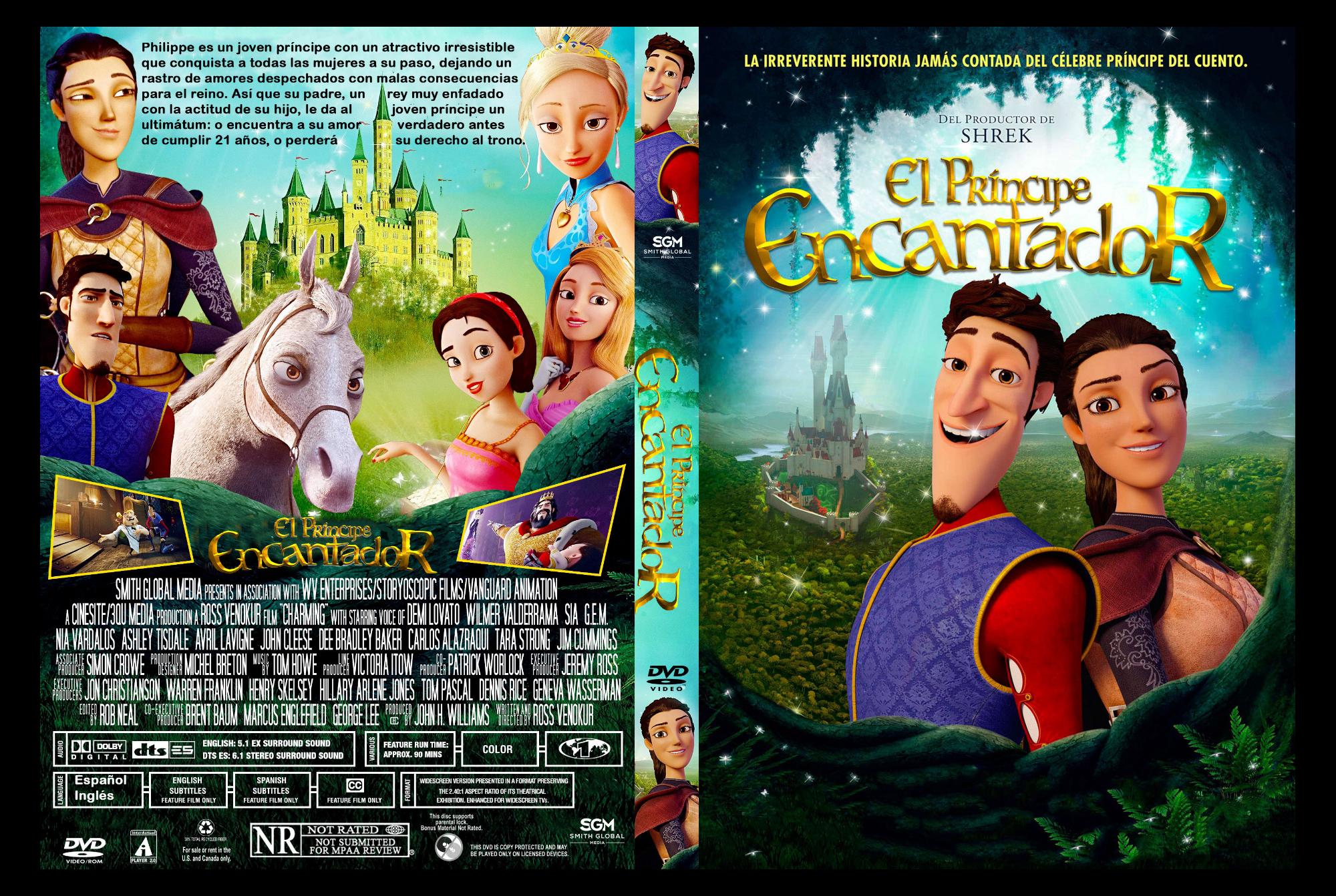 853734bb2ac Productora  3QU Media   Cinesite Género  Animación. Comedia. Fantástico.  Infantil Sinopsis  Philippe es un joven príncipe con un atractivo  irresistible que ...