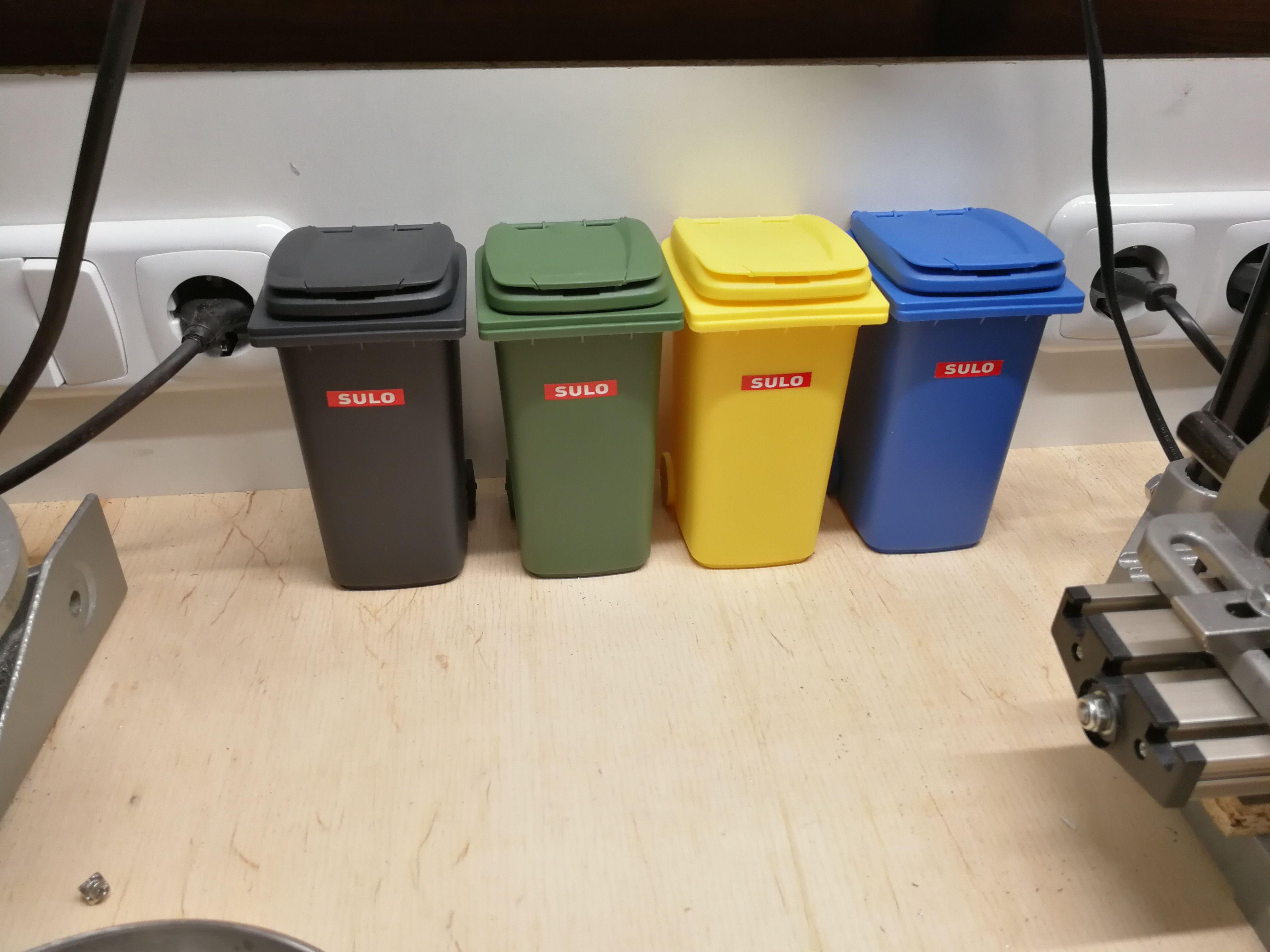Die Mülltrennung beginnt bei uns gleich da, wo er entsteht.