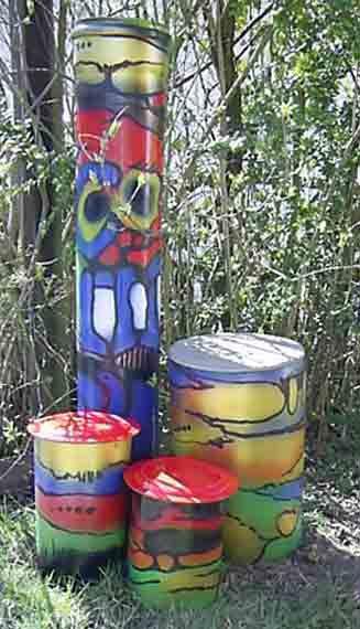 hans-ruschel - keramik und anderes, Terrassen ideen