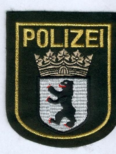 Polizei WSP  BREMEN  Stoffabzeichen Patch JACKE 90er Jahre WASSERSCHUTZPOLIZEI !