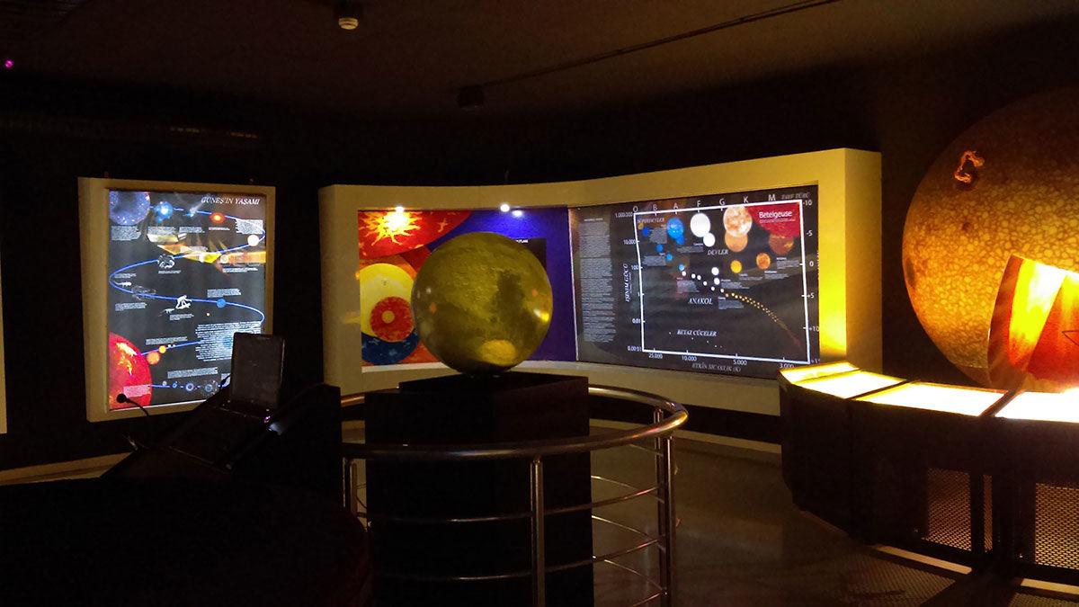 astronomi müzesi, küre