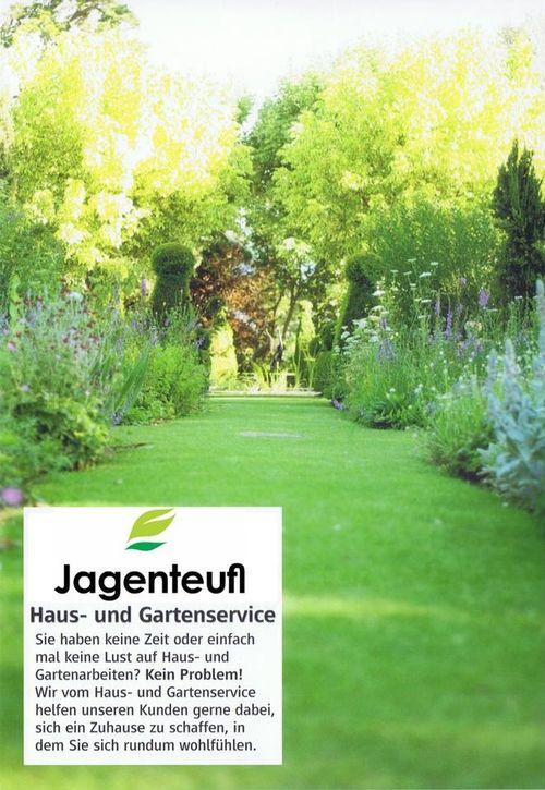 Haus- und Gartenservice Jagenteufl - Flyer